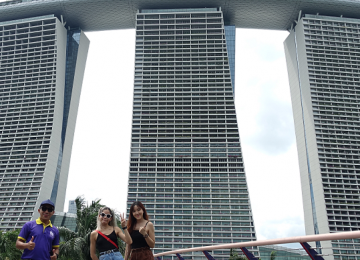 A Guided Tour of Marina Bay: The Twin Wonders